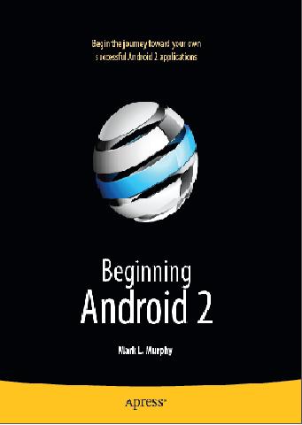 دانلود کتاب آموزش برنامه نویسی اندروید beginning android 2